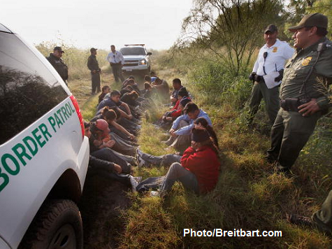 Illegal Immigrants Released into Texas