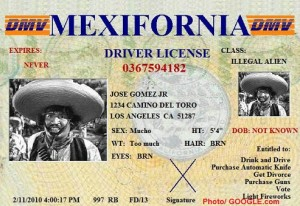 Mexifornia-Licensia