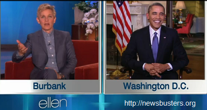 Ellen Thinks We are Grateful for Obamacare?