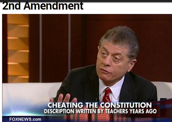 School Workbook Rewrites 2nd Amendment