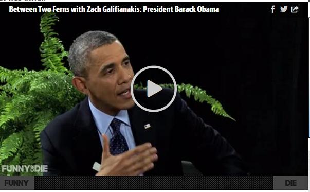 Obama Stars in Bizarre Video