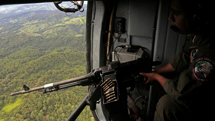 Mexican Military Chopper Flies Into US, Shoots At Border Guards