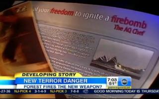 Watch: Al Qaeda Tells Followers to Start Wildfires in U.S.