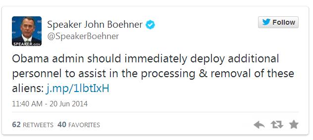 Nancy Pelosi Snaps When Boehner Calls Illegal Aliens 'ALIENS'