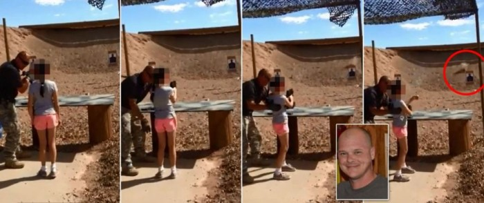 Tragic Accident as 9 Year Old Accidentally Kills Gun Instructor with an Uzi