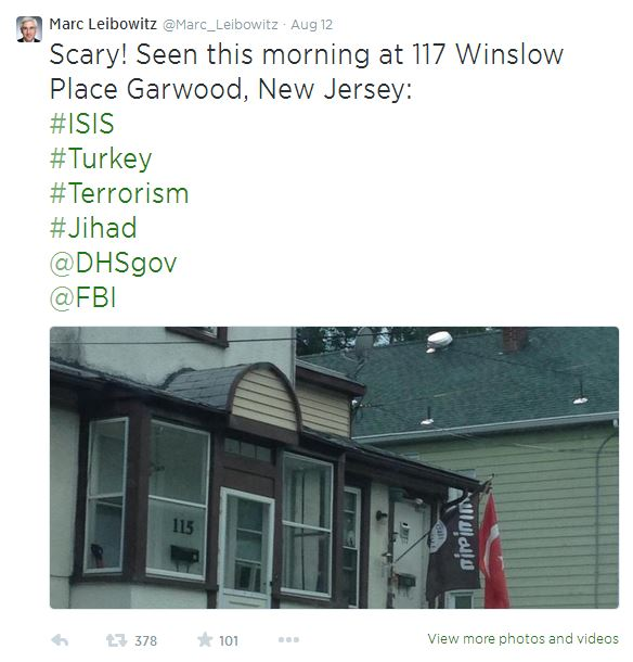 How Would You React If Your Neighbor Was Flying The ISIS Flag: It Just Happened Here In The U.S.