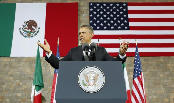 WATCH OBAMA SAY ILLEGAL IMMIGRANTS 'ARE AS AMERICAN AS ANY OF US'