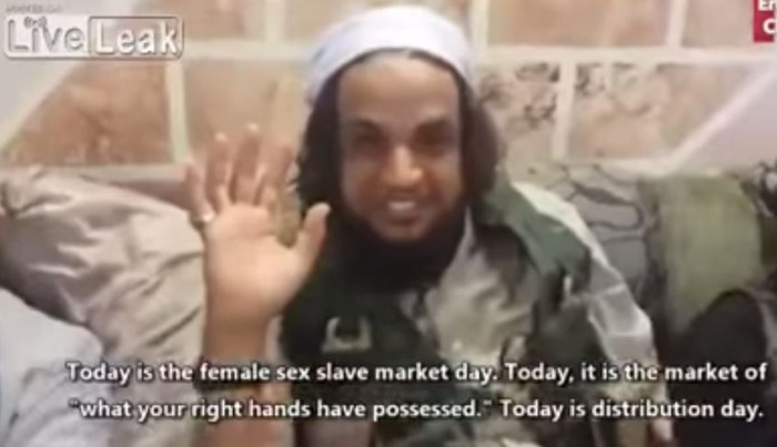 [Watch] ISIS MILITANT MEN CELEBRATE WAITING FOR THE CHRISTIAN AND YAZIDI CHILDREN SEX SLAVES THEY BOUGHT