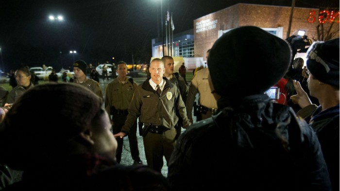 WATCH: Ferguson Tension Building With Grand Jury Decision Expected At Any Time