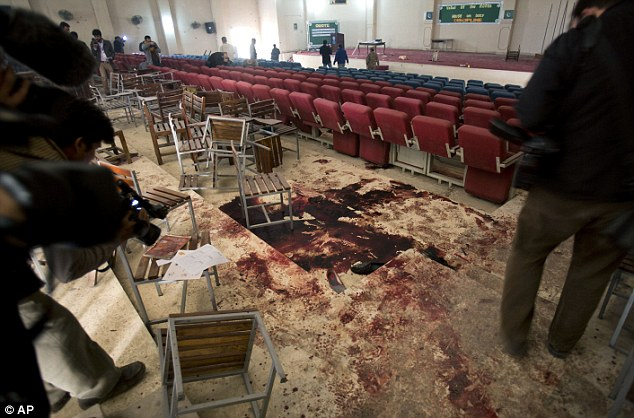 WATCH: Shocking Images From Inside The Pakistan Massacre School