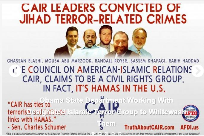 [VIDEO] Obama Rejects United Arab Emirates Labeling of CAIR And The Muslim American Society As 'Terrorist Groups'