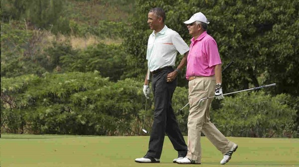 Christmas Eve Obama Golfed With Radical Islamist Malaysian Prime Minister