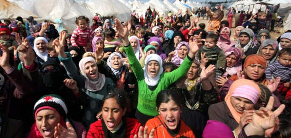 THE U.N. TO DUMP THOUSANDS OF SYRIAN AND MUSLIM REFUGEES ON THE UNITED STATES