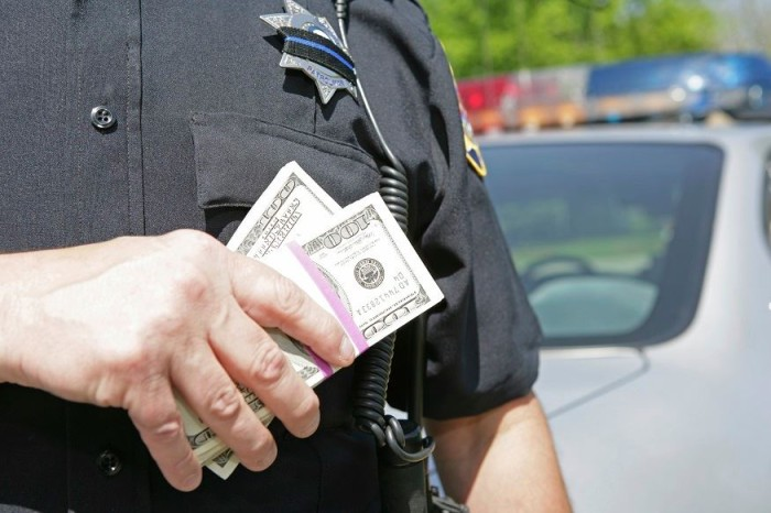 U.S. Police Operating a Coordinated Shakedown Scheme