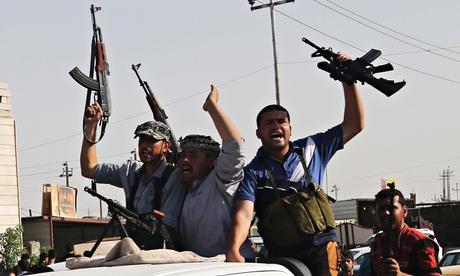 [Watch] Iran-Backed Yemen's Houthi Jihadis Seize U.S. Marines' Vehicles and Weapons