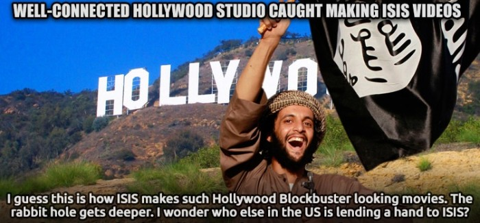 Hollywood Studio Busted Producing ISIS Videos
