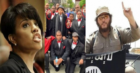 [Watch] Shocking, Baltimore Mayor Thanks Nation Of Islam Who Gave One Finger ISIS Salute After Gray Funeral