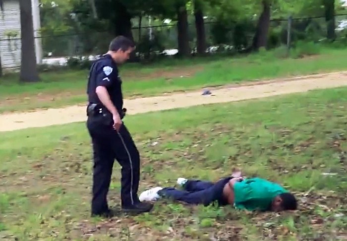 [Watch] Cop Charged With Murder For Shooting Unarmed Black Man In The Back