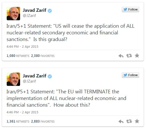 [Watch] Iran Says U.S. Is Lying About Nuclear Deal And Spinning The 'Fact Sheet'