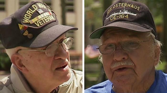 Veterans Locked Out Of Memorial Honoring World War II Heroes [Video]