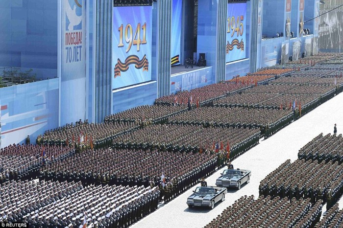 [Watch] President Vladimir Putin Held Russia's Largest Victory Day 'Armed' Military Parade In Red Square in Moscow