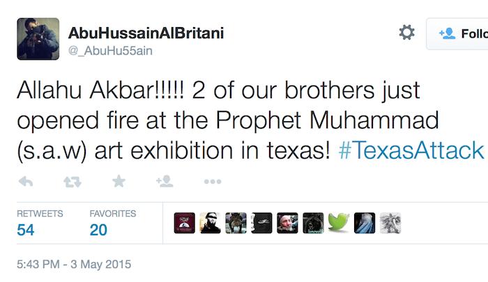 [Watch] Muslim Terrorists Open Fire at Pamela Geller's 'Draw the Prophet Mohammed' Cartoon Contest
