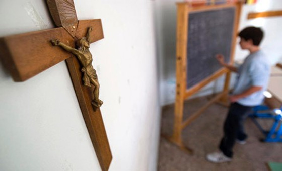 Crosses At Catholic School Offends Muslims And Interferes With Their Prayers