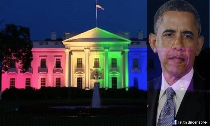 Obama Lights Up The White House To Celebrate Gay Marriage Ruling [Video]