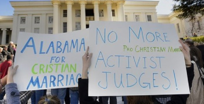 Alabama Counties Stop Issuing Marriage Licenses
