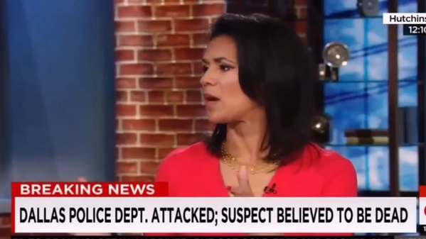 CNN Anchor Refers to Dallas Gunman's Actions as 'Courageous and Brave' [Video]