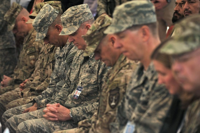 U.S. Troops On Food Restrictions During Month Of Ramadan