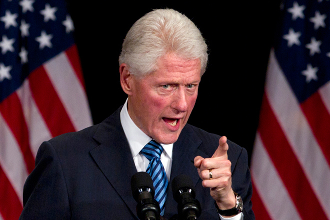 Bill Clinton: 'You Can't Have People Walking Around With Guns' [Video]