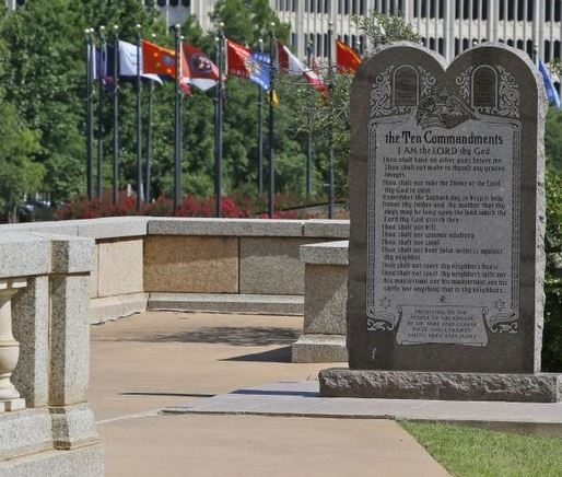 10 Commandments Monument Must Come Down at Okla. Capitol