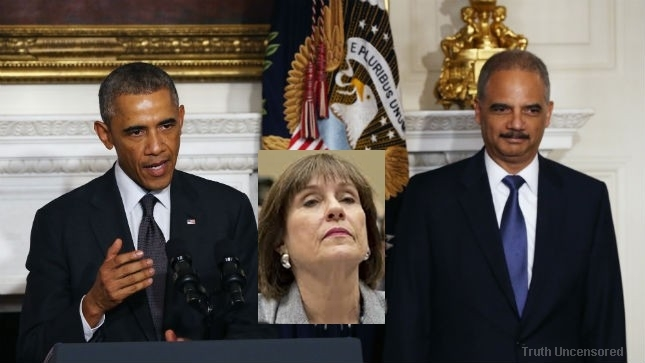 IRS Scandal Just Got A Whole Lot Worse: Obama, DOJ And FBI Are Implicated