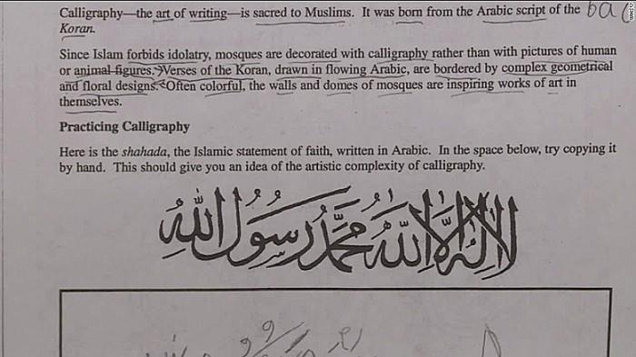 Virginia Schools Shut Down Over Islam Lesson Praising Allah As 'ONE TRUE GOD' (Video)