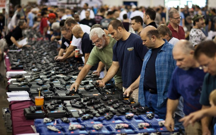 FBI: 2015 Broke Annual Gun-Purchase Background Check Record By Millions