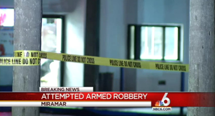 Armed Restaurant Employee Shoots And Kills Masked Armed Robber
