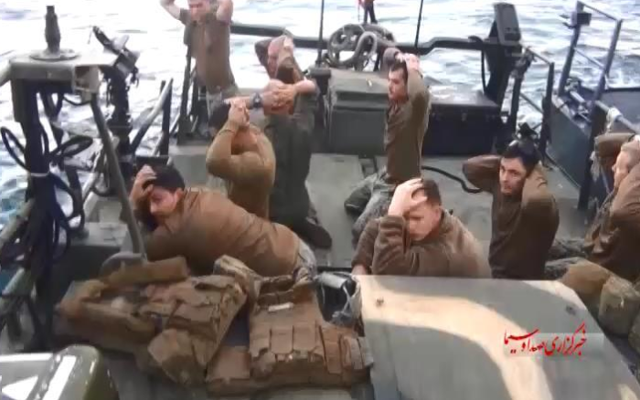 US Sailors Surrender On Their Knees In New Propaganda Pictures