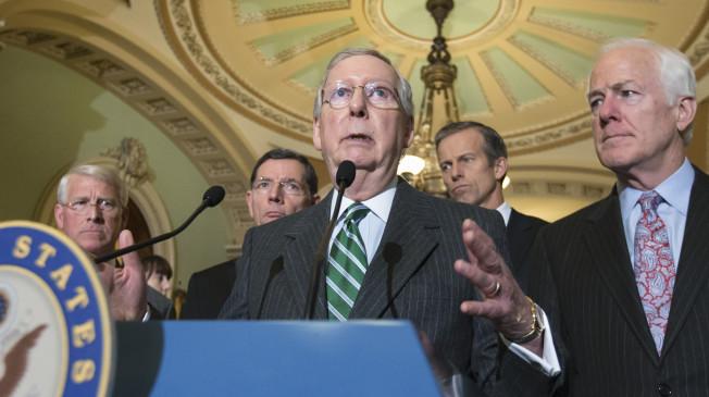 Key GOP Senators Emerge From Meeting: No Hearing For Obama SCOTUS Nom