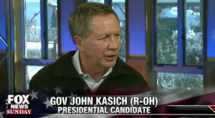"WATCH: John Kasich Pledges ""Legalizing Illegal Aliens"" Within 100 Days Of Taking Office"