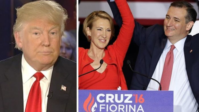 Donald Trump Blasts Cruz-Fiorina Ticket Roll-Out As Desperate 'Waste Of Time' (Video)