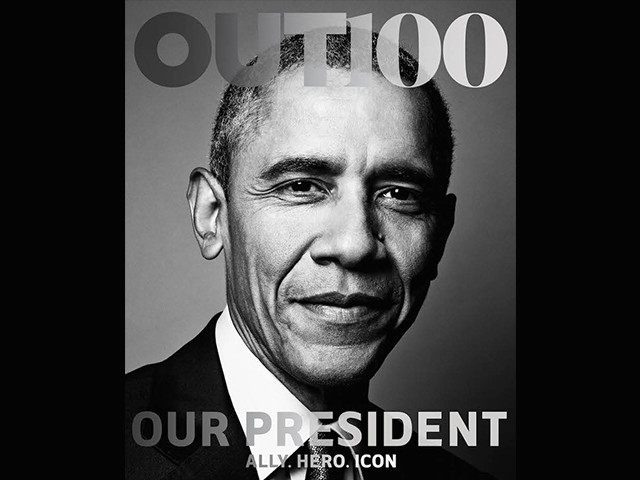 Obama Becomes First Sitting President To Pose For Cover Of LGBT Magazine (Video)