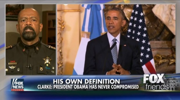 Sheriff Clarke: 'Best Thing About the Obama Presidency Is That It's Coming To An End' (Video)