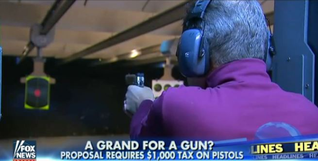 Outrageous: $1,000 Tax On Pistols Pushed As 'Role Model' For U.S. States