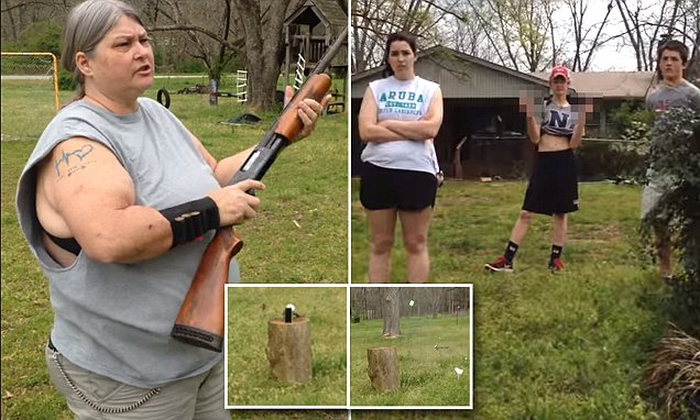 'I Denounce the Effects Social Media Have On My Children': Mom Shoots Kids' iPhones (Video)