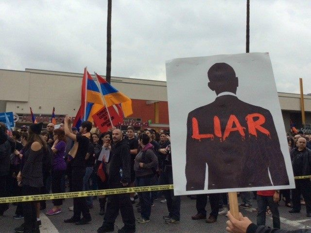 Innocents Betrayed: Thousands March In Los Angeles Protesting Genocide Denial  (Video)