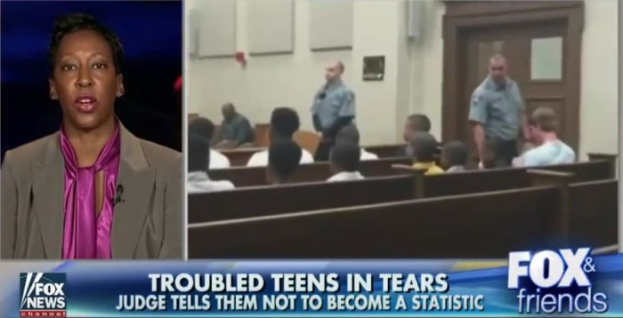 Judge Brings Room Of Troubled Youths To Tears With Tough Love (Video)
