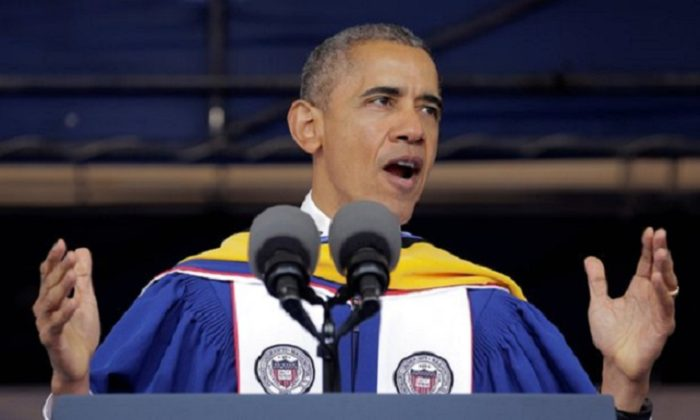 Obama: US In 'Better Place' Than When He Graduated College (Video)