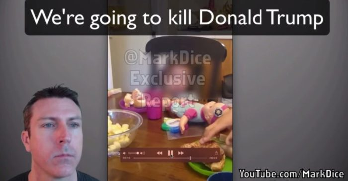 "WATCH: Mexican Parents Teach 3-Year Old Daughter To Say ""We Have To Kill Trump!"""