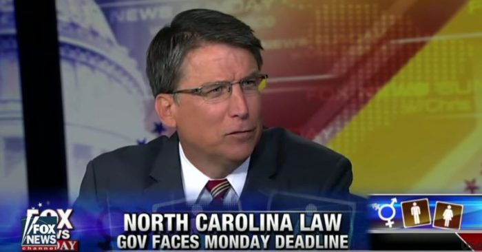 DEADLINE TODAY: NC Gov Says Obama Threatening To 'Take Away Money For Roads' Over Bathroom Law (Video)